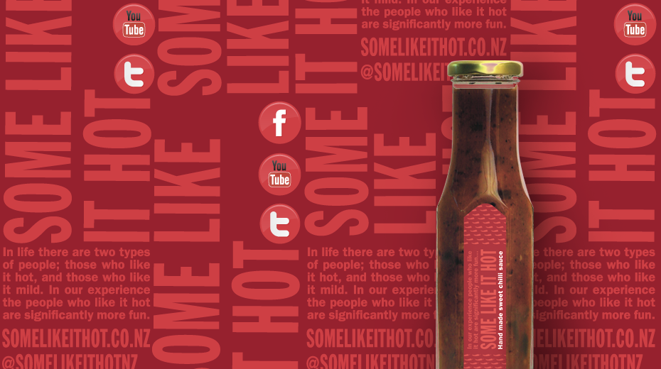Some Like It Hot brand and packaging designed by Mark Adams Brand Stories.